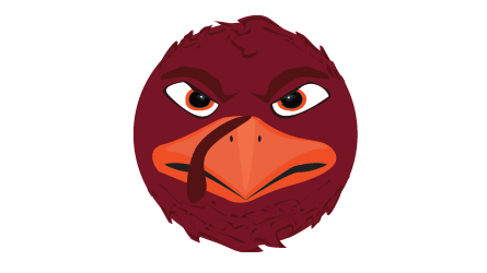 HokieBird emoji scroll